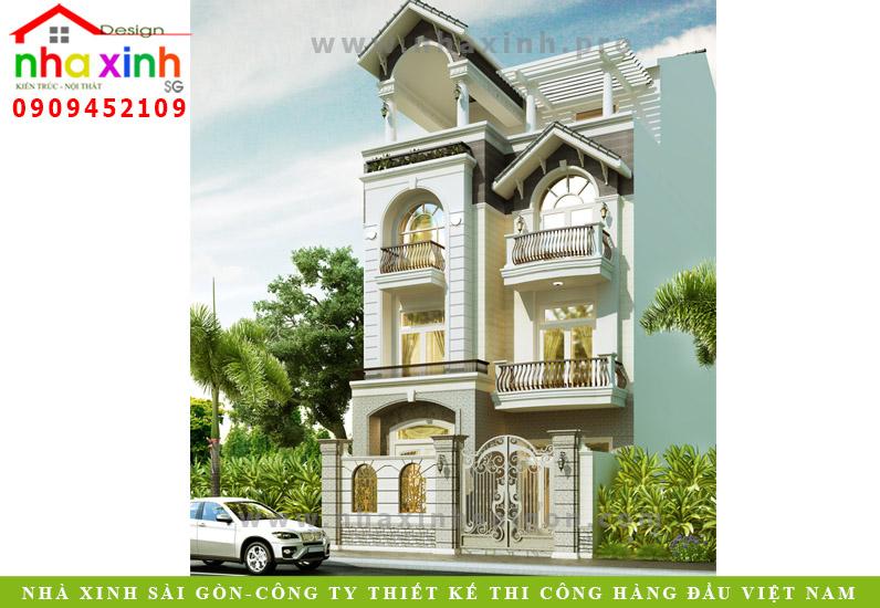 Biệt Thự Phố 4 Tầng Sang Trọng | Anh Chiện – Tân Phú| BT-33