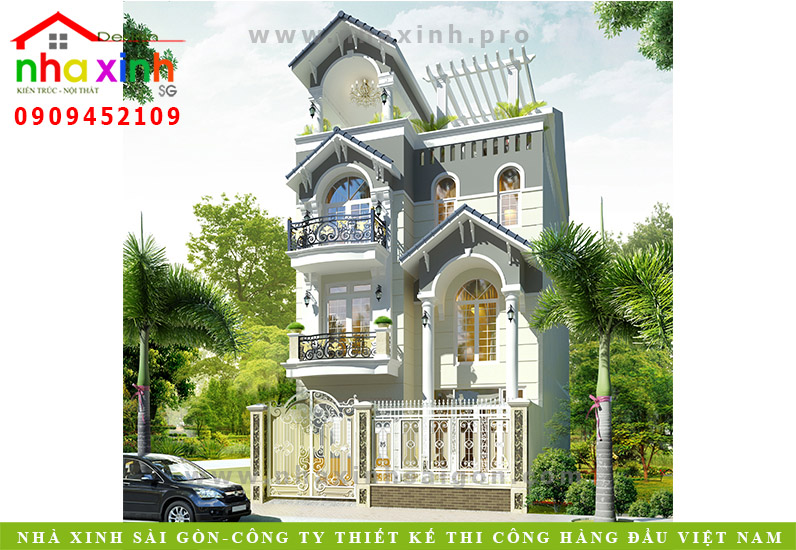 Biệt Thự Tân Cổ Điển | Chị Bình | Quận 7 | BT-54