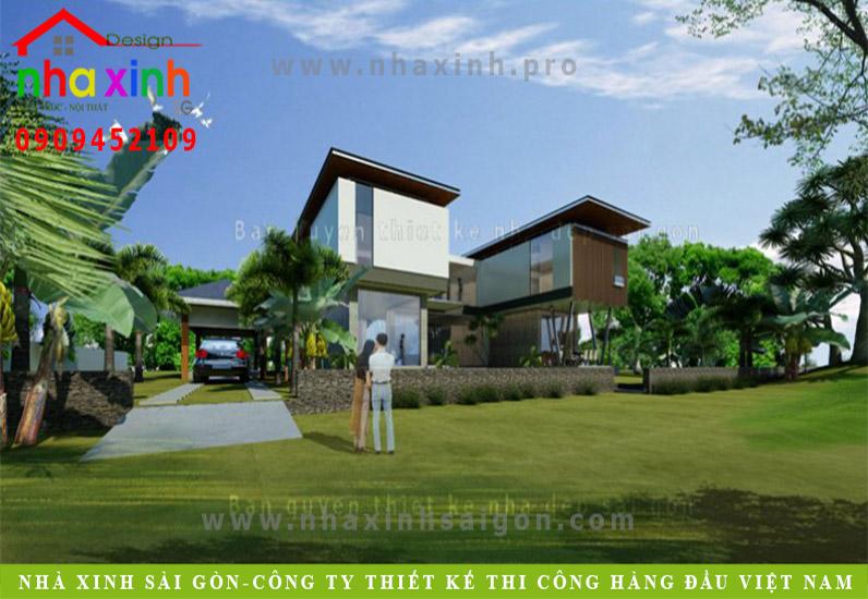 Biệt Thự Vườn Sang Trọng | Chị Thủy | BT-56