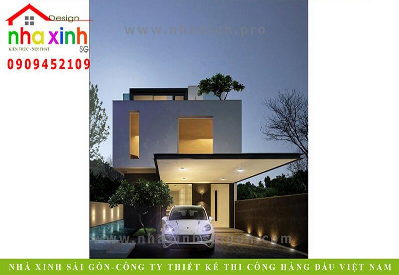 Thiết Kế Nhà Phố Hiện Đại Phú Mỹ Hưng | NP-96
