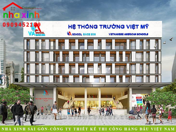 Thiết Kế Hệ Thống Trường Việt Mỹ | NP-99