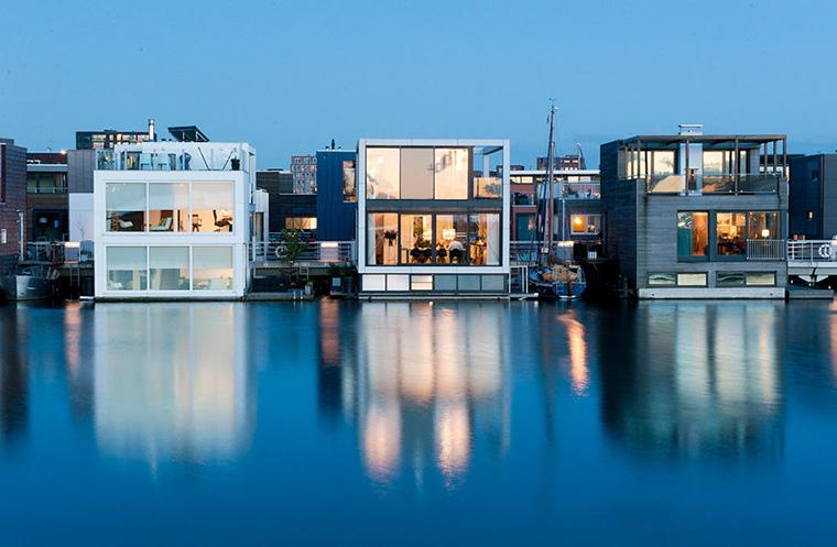 Cuộc sống trên nhà nổi, nhà du thuyền có gì độc ?
